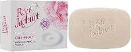 Parfémy, Parfumerie, kosmetika Krémové mýdlo - Bulgarian Rose Joghurt Soap