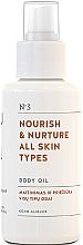Parfémy, Parfumerie, kosmetika Vyživující tělový olej pro všechny typy pokožky - You & Oil Nourish & Nurture Body Oil