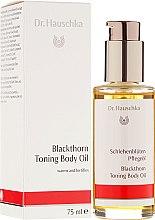 """Parfémy, Parfumerie, kosmetika Tělový olej """"Květ trnky"""" - Dr. Hauschka Blackthorn Toning Body Oil"""