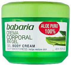 Parfémy, Parfumerie, kosmetika Přírodní gel pro obnovu těla - Babaria Aloe Vera