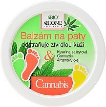 Parfémy, Parfumerie, kosmetika Balzám na nohy - Bione Cosmetics Cannabis Heel Balm Removes Hard Skin