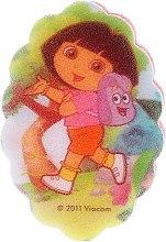 Parfémy, Parfumerie, kosmetika Dětská koupelová houba Dora průzkumnice, 169-3 - Suavipiel Dora Bath Sponge