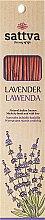 """Parfémy, Parfumerie, kosmetika Aromatické tyčinky """"Levandule"""" - Sattva Lavender"""