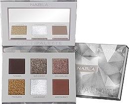 Parfémy, Parfumerie, kosmetika Paleta očních stínů - Nabla Cutie Collection Palette Platinum
