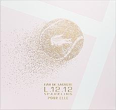 Parfémy, Parfumerie, kosmetika Lacoste Eau de Lacoste L.12.12 Pour Elle Sparkling - Sada (edt/90ml + sh/gel/150ml)