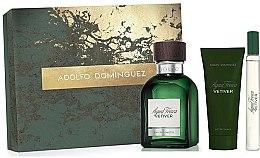 Parfémy, Parfumerie, kosmetika Adolfo Dominguez Agua Fresca Vetiver - Sada (edt/120ml + asb/75ml + edt/mini/20ml)