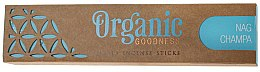 Parfémy, Parfumerie, kosmetika Aroma tyčinky - Song Of India Organic Goodness Nag Champa