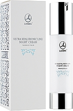 Parfémy, Parfumerie, kosmetika Regenerační noční krém proti vráskám - Lambre Ultra Hyaluronic