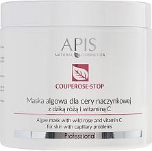 Parfémy, Parfumerie, kosmetika Maska na obličej s výtažkem z šípků - APIS Professional Algae Mask