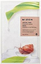 Parfémy, Parfumerie, kosmetika Tkáninová maska s hlemýžďovým extraktem - Mizon Joyful Time Essence Mask Snail