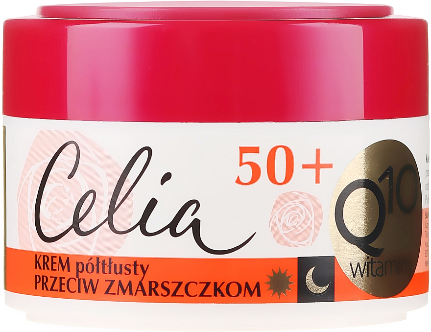 Krém proti vráskám - Celia Q10 Vitamin 50+