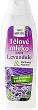 Parfémy, Parfumerie, kosmetika Tělové mléko - Bione Cosmetics Lavender Body Lotion