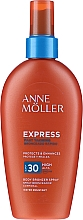 Parfémy, Parfumerie, kosmetika Sprej na opalování podporující zhnědnutí - Anne Moller Express Body Bronzer Spray SPF30