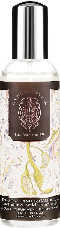 """Aromatický bytový sprej """"Levandule a divoký heřmánek"""" - La Florentina Lavender & Wild Chamomille Room Spray — foto N1"""