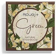 Parfémy, Parfumerie, kosmetika Paleta očních stínů - Rougj+ Green Natural Eyeshadow Palette