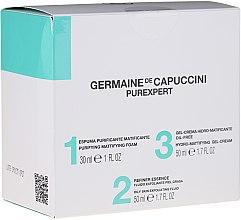 Parfémy, Parfumerie, kosmetika Sada - Germaine de Capuccini Purexpert Special Set 1-2-3 Oily (f/foam/30ml + fluid/50ml + f/gel/50ml)