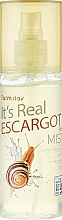 Parfémy, Parfumerie, kosmetika Gel-mist na obličej s hlemýžďovým mucinem - FarmStay It's Real Escargot Gel Mist