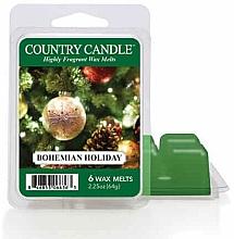 Parfémy, Parfumerie, kosmetika Vosk pro aromalampu - Country Candle Bohemian Holiday Wax Melts
