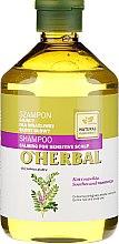 Parfémy, Parfumerie, kosmetika Šampon s extraktem lékořice pro citlivou pokožku hlavy - O'Herbal