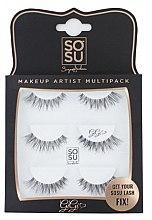 "Parfémy, Parfumerie, kosmetika Sada umělých řas ""Gigi"" - Sosu by SJ Makeup Artist Multipack Eyelashes"