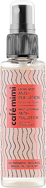 Pleťová mlha Anti-Pollution - Cafe Mimi Facial Mist