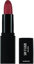 Parfémy, Parfumerie, kosmetika Rtěnka - Sleek MakeUP Say It Loud Satin Lipstick