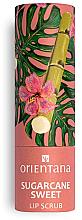 Parfémy, Parfumerie, kosmetika Peeling na rty Sladká cukrová třtina - Orientana Sugarcane Sweet
