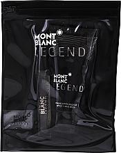 Parfémy, Parfumerie, kosmetika Montblanc Legend - Sada (edt/7,5 ml + a/sh/b/50 ml + bag)