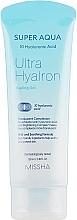 Parfémy, Parfumerie, kosmetika Peelingový pleťový gel s kyselinou hyaluronovou - Missha Super Aqua Ultra Hyalron Peeling Gel