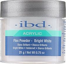 Parfémy, Parfumerie, kosmetika Akrylový pudr světle bílý - IBD Flex Powder Bright White
