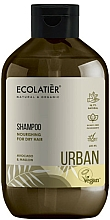 """Parfémy, Parfumerie, kosmetika Výživný šampon na suché vlasy """"Avokádo a sléz"""" - Ecolatier Urban Nourishing Shampoo"""