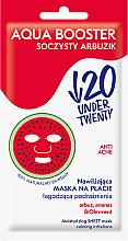 Parfémy, Parfumerie, kosmetika Hydratační a zklidňující obličejová maska - Under Twenty Anti Acne Aqua Booster Juicy Watermelon Face Mask