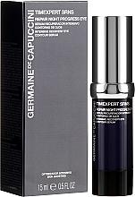 Parfémy, Parfumerie, kosmetika Sérum obnovující na víčka - Germaine de Capuccini Timexpert SRNS Repair Night Progress Eye