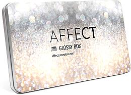 Parfémy, Parfumerie, kosmetika Hliníková make-up paleta - Affect Cosmetics Glossy Box Mini Aluminium Palette