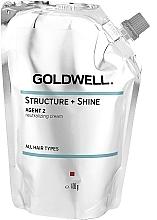 Parfémy, Parfumerie, kosmetika Neutralizující krém na vlasy  - Goldwell Structure + Shine Agent 2 Neutralizing Hair Cream
