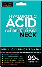 Parfémy, Parfumerie, kosmetika Expresní maska na krk - Beauty Face IST Extremely Moisturizing Booster Neck Mask Hyaluronic Acid