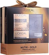 Parfémy, Parfumerie, kosmetika Sada - Loreal Nutri Gold