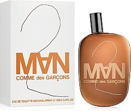 Comme des Garcons 2 Man - Toaletní voda — foto N2