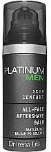 Parfémy, Parfumerie, kosmetika Hydratační balzám na holení - Dr Irena Eris Platinum Men Skin Comfort Aftershave Balm