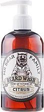 Parfémy, Parfumerie, kosmetika Šampon na vousy - Mr. Bear Family Beard Wash Citrus