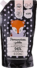 Parfémy, Parfumerie, kosmetika Přírodní dětský sprchový gel Pomeranč a jablko - Yope Shower Gel (doypack)