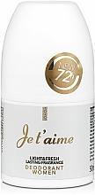 Parfémy, Parfumerie, kosmetika Vittorio Bellucci Je T'aime - Parfémovaný kuličkový deodorant