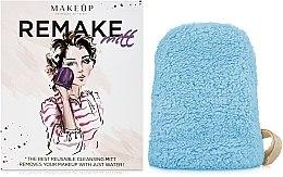 "Parfémy, Parfumerie, kosmetika Odličovací rukavice, modrá ""ReMake"" - MakeUp"