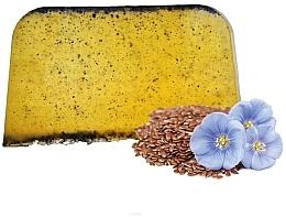 Parfémy, Parfumerie, kosmetika Tuhý arganový šampon na vlasy se lněným olejem - E-Fiori Solid Hair Shampoo