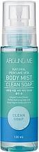 Parfémy, Parfumerie, kosmetika Tělový mist - Welcos Around Me Natural Perfume Vita Body Mist Clean Soap