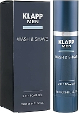 Parfémy, Parfumerie, kosmetika Gel na holení a mytí - Klapp Men Wash & Shave 2in1 Foam Gel
