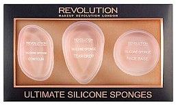 Parfémy, Parfumerie, kosmetika Sada silikonových houb - Makeup Revolution Ultimate Silicone Sponge Set