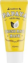 Parfémy, Parfumerie, kosmetika Čisticí a zesvětlující peelingová maska Papája - A'pieu Fresh Mate Mask
