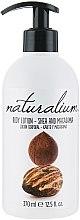 """Parfémy, Parfumerie, kosmetika Výživný tělový lotion """"Shea a Macadamia"""" - Naturalium Body Lotion"""