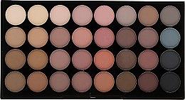 Paleta očních stínů, 32 odstínů - Makeup Revolution Ultra 32 Shade Palette Flawless Matte — foto N1